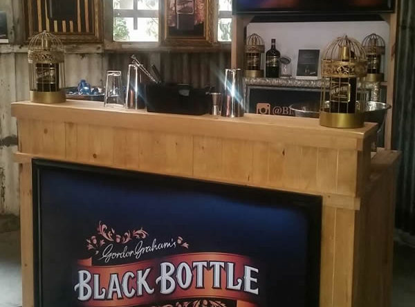 1.5M Pallet Bar - Black Bottle