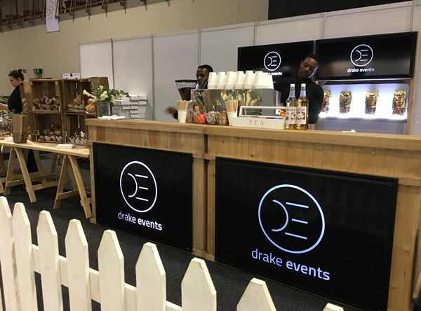 Drake Events showing how to do mobile bar services in a professional way.