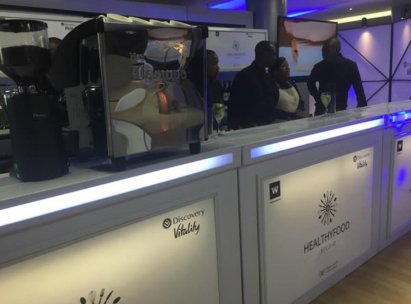 Customise the bar area with your brand on the mobile bar by Drake Events.