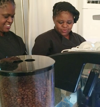 Drake Events - Baristas. We know how to brew that perfect cup of coffee for your event!