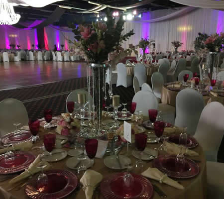 Drake Events - We offer professional Decor Services in Gauteng, Pretoria and Johannesburg