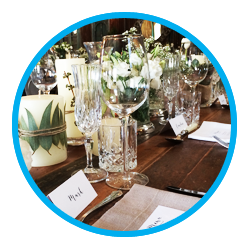 Event decor services for parties, functions, weddings. In Johannesburg, Pretoria - Gauteng.