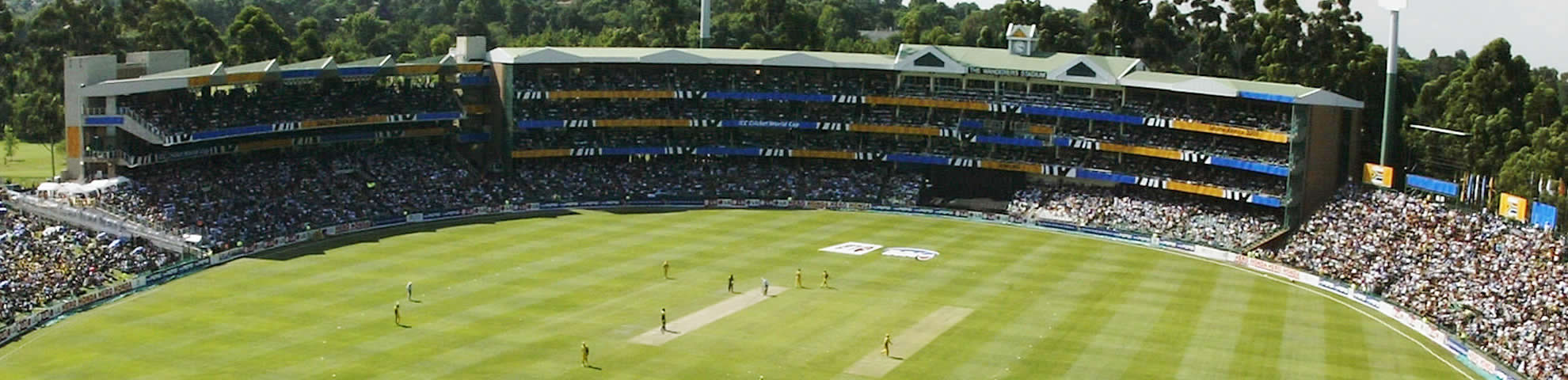 Book your cricket hospitality packages at Wanderers stadium with Drake Events.