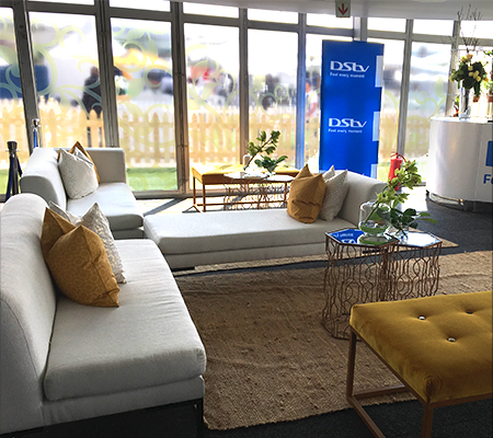 Comfortable and stylish decor for your next event.