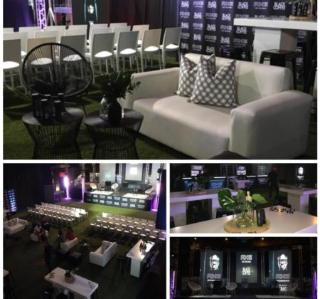 Classy and elegant event decor by Drake Events